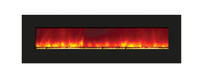 "Amantii 72"" Wide Wall Mount or Built-In / BACK-LIT Electric Fireplace - WM-BI-72-8123"