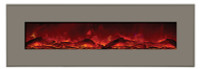 "Amantii 58"" Wall Mount or B/I Designer Electric Fireplace"