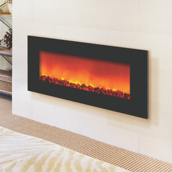 WM-SLIM-36 – Wall Mount Zero Clearance Electric Fireplace by Sierra Flame