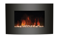 Amantii WM-3522CF Convex Front Electric Fireplace