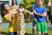 Jenga® GIANT™ Premium Hardwood Game - It's your move!