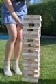 Jenga® GIANT™ Premium Hardwood Game Stack