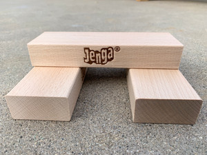 Three Blocks For Jenga® GIANT™ Premium Game