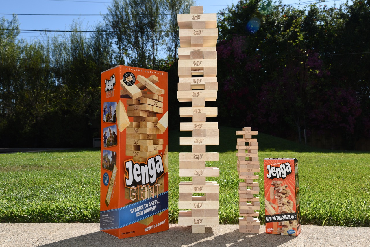 Custom your Jenga® GIANT™