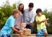 Jenga® GIANT™ Family Edition Hardwood Game Build