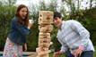Jenga® GIANT™ Family Edition Hardwood Game Focus