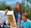 Jenga® GIANT™ Family Edition Hardwood Game Topple