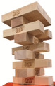 12 Blocks for Jenga® GIANT™ Genuine Hardwood Game