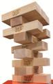 12 Blocks for Jenga® GIANT™ Genuine Hardwood Game