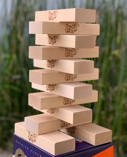 12 Blocks for Jenga® GIANT™ Premium Hardwood Game