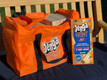 Jenga® GIANT™ JS7 Hardwood Game in its Carry Bag