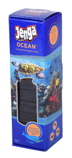 Jenga® Ocean™ Game (100%  Recycled Fishing Nets)