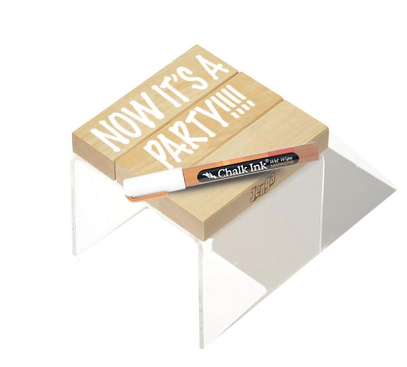 Jenga® GIANT™ Play Base & Wet Wipe Marker
