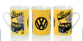 VW Classic Surf Yellow Campervan Coffee Mug