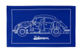 Volkswagen Beetle Blueprint Tea Towel