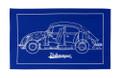 Volkswagen Beetle Blueprint Tea Towel