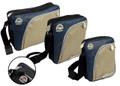 Tyre Tread VW Campervan Blue & Olive Shoulder Bag