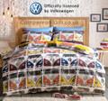 Volkswagen Campervan VDub Duvet and Pillow Case Set