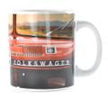 VW Red Dashboard Campervan Collectible Mug
