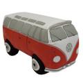 Volkswagen 3D Red Campervan Cushion