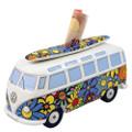 VW T1 Flowers Campervan Money Box
