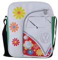 VW Retro Flowers Campervan Shoulder Bag