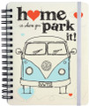 VW Home Is Where You Park It Notepad