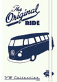 VW The Original Ride Campervan Diary Notebook