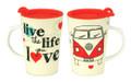 Live The Life You Love Campervan Travel Mug