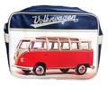 Official VW Red Campervan Retro Shoulder Bag