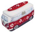 VW Red Flowers Campervan Universal Neoprene Wash Bag