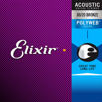 Elixir Polyweb Bronze Acoustic Guitar Strings Ireland