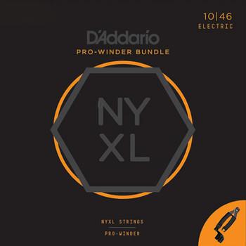 Daddario NYXL 10-46 Pro Winder Bundle