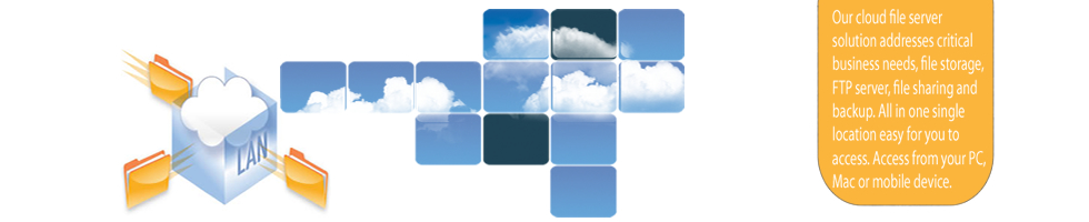Hosted Cloud File Server and Storage