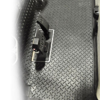 Madjax Replacement Diamond Plated Floor Mat - Fits Club Car DS