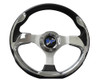 "13"" ULTRA2 Chrome Steering Wheel with Hub Adapter (06-017)"