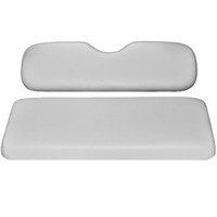 Madjax Rear Seat Cushion Set (WHITE Color)  - Fits Genesis 150/250/300 Rear Seats