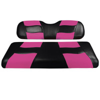 Madjax RIPTIDE Two-Tone Front Seat Cover Black/Pink
