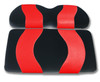Madjax WAVE Black/Red Front Seat Cover