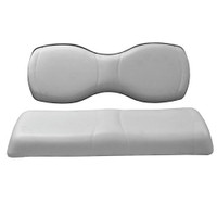 Madjax Grey Deluxe Rear Seat Cushion Set - Fits Genesis 250/300 Rear Seats