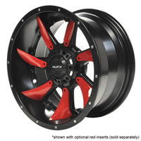 MJFX 14x7 Blackhawk Wheel w/ Red Inserts