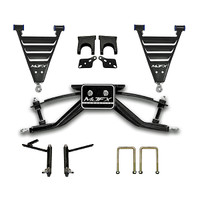 "Madjax 6"" Heavy Duty A-Arm Lift Kit - Fits Club Car DS w/Steel Dust Covers (1982 - 2004.5)"