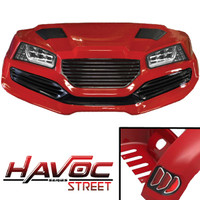 Madjax Red HAVOC Street Series Body Kit - Fits Yamaha G29/Drive (2007-2016)
