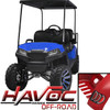 Madjax Blue HAVOC Off-Road Series Body Kit - Fits Yamaha G29/Drive (2007-2016)