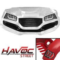 Madjax White HAVOC Street Series Body Kit - Fits Yamaha G29/Drive (2007-2016)