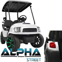 Madjax White ALPHA Street Series Body Kit - Fits Club Car Precedent (2004-Up)
