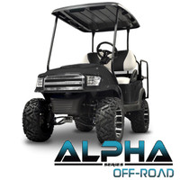 Madjax Black ALPHA Off-Road Front Cowl Kit - Fits Club Car Precedent (2004-Up)