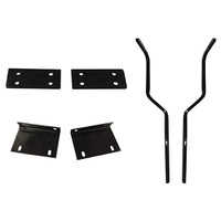 Madjax Mounting Brackets & Struts for Triple Track Extended Tops with Genesis 250 Seat Kit - Fits Yamaha G29/Drive