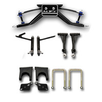 "Madjax 6"" A-Arm Lift Kit - Fits Club Car DS with Steel Dust Caps (Pre - 2004.5)"
