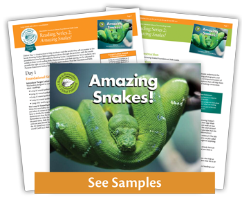 Amazing Snakes from Reading Series Two decodable books